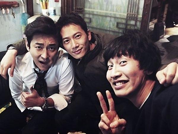 Lee Kwang Soo, Joo Ji Hoon & Ji Sung Tunjukan Chemistry Luar Biasa di Set 'Good Friends'