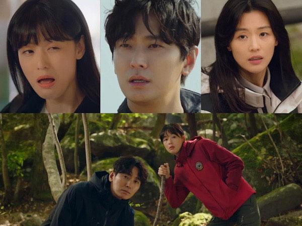 Jun Ji Hyun Unjuk Sisi Kocak Si Penjaga Gunung Pemberani di Teaser Drama Cliffhanger