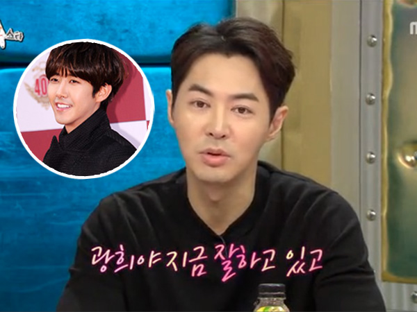 Jun Jin Shinhwa Beri Nasehat Kwanghee Hadapi 'Infinity Challenge'