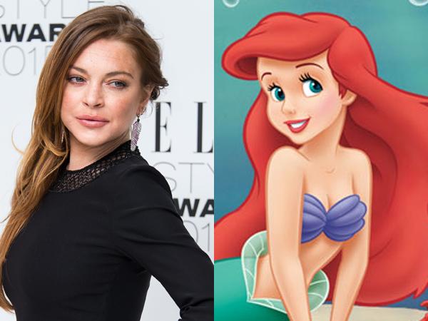 Ramai Film Live-Action Disney Princess, Lindsay Lohan Tawari Dirinya untuk Main 'Little Mermaids'