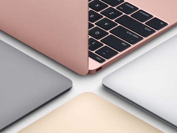 Tambah Warna Rose Gold, Apple Juga Upgrade Kecepatan dan Baterai di MacBook Baru