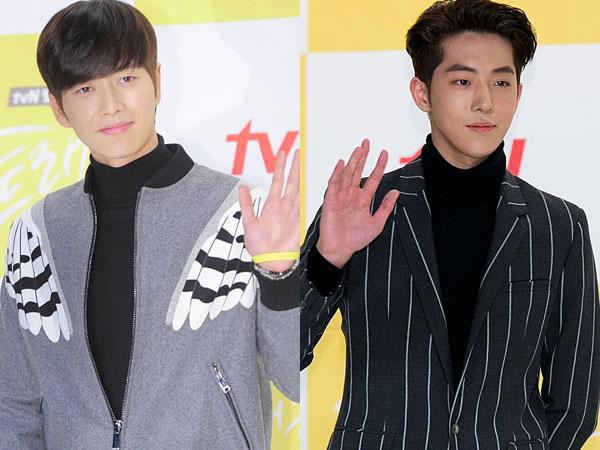 Bikin Iri! Park Hae Jin dan Nam Joo Hyuk Kasih Pelukan 'Gratis' Kepada Para Fans