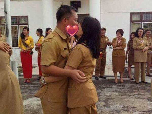 Heboh PNS Ciuman Massal, Ini Klarifikasi Humas Pemprov Nias Selatan