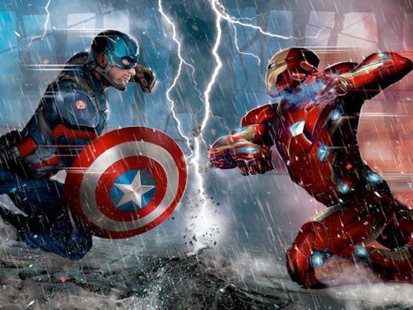 Promo Art 'Captain America: Civil War' Perlihatkan Dua Tim Super Hero Siap Bertempur