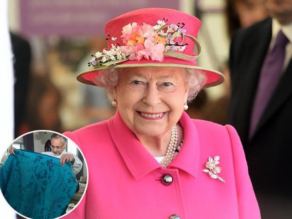 Bertepatan Dengan Hari Spesial, Ratu Elizabeth Dapat Batik Istimewa dari Indonesia