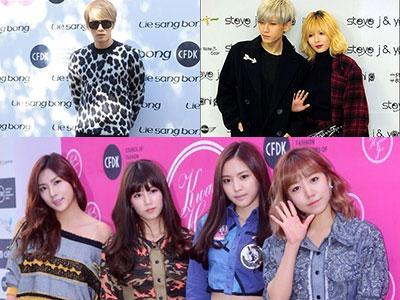 Intip Transformasi Para Idola K-Pop Jadi Fashionista di 2014 S/S Seoul Fashion Week