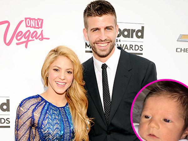 Ini Dia Putra Kedua Shakira dan Gerard Pique, Sasha!