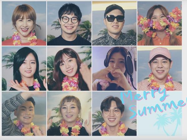 Serunya! 11 Idola K-Pop Ini Bentuk Tim 'Summer 11' di MV Lagu Spesial Musim Panas!