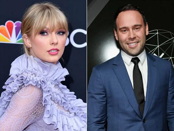 Taylor Swift Ungkap 6 Albumnya Dijual Scooter Braun Tanpa Izin