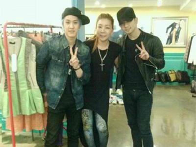 G.O & Seungho di-Make Over Desainer Top Korea