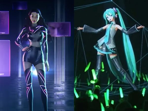 Konsep Virtual Girl Group aespa Ingatkan Netizen Pada Sosok Hatsune Miku