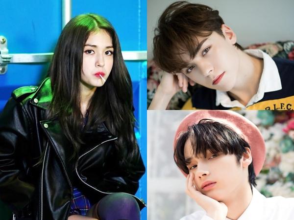 4 Idol K-Pop yang Miliki Wajah Blasteran Memukau