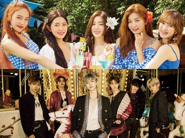 NCT Dream dan Red Velvet Berpartisipasi Dalam Kampanye Virus Corona