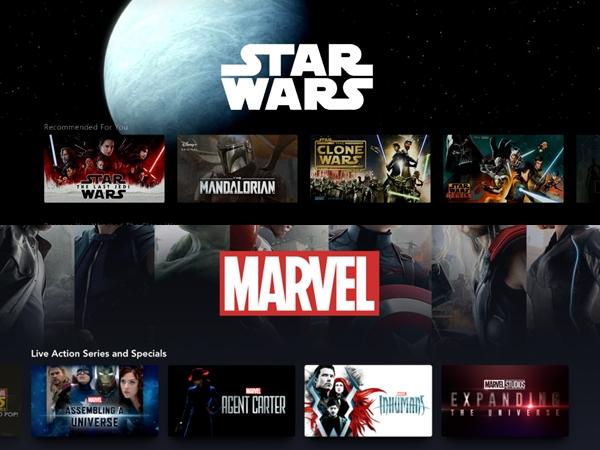 Disney Akan Rilis 20 Serial Marvel dan Star Wars di Disney Plus Tahun Depan