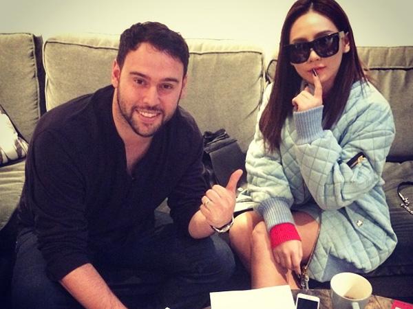CL 2NE1 Telah Tandatangani Kontrak Bersama Scooter Braun untuk Debutnya di Amerika