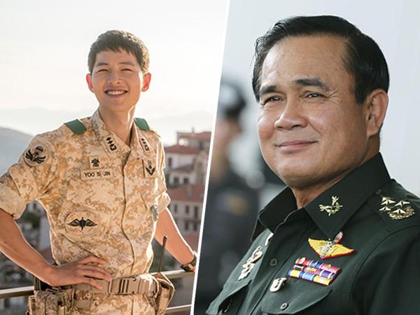 Nge-fans Karena 'Descendants of the Sun', Perdana Menteri Thailand Akui Ingin Bertemu Song Joong Ki!