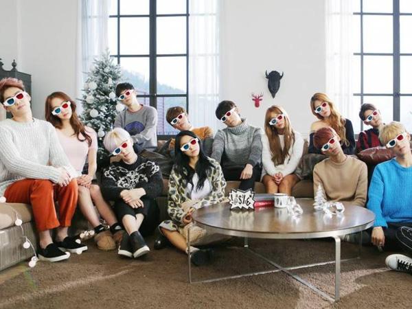 Artis Starship Entertainment Berkumpul untuk Lagu Natal dan Musim Dingin Terbarunya!