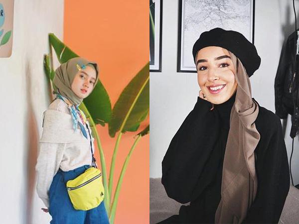 Biar Kelihatan Berbeda, Ini Dia Inspirasi 5 Aksesoris Hijab Kekinian