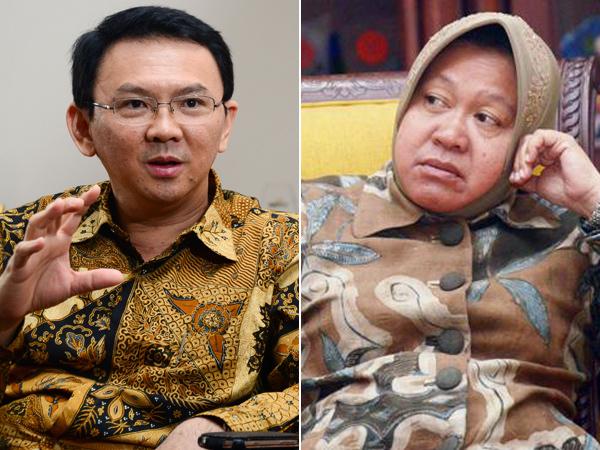 Ahok Samakan Surabaya dengan Jakarta Selatan, Tri Rismaharini 'Baper'