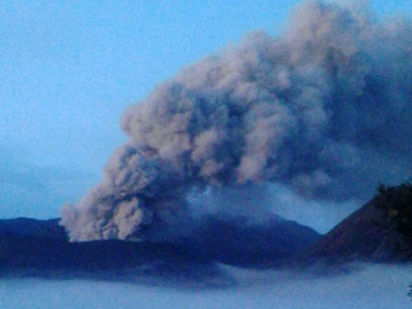 Abu Tipis Gunung Bromo Jangkau 3 Kecamatan di Malang