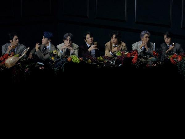 Pesona Dark dan Kemegahan BTS di Foto Konsep Ketiga 'Map of the Soul: 7'