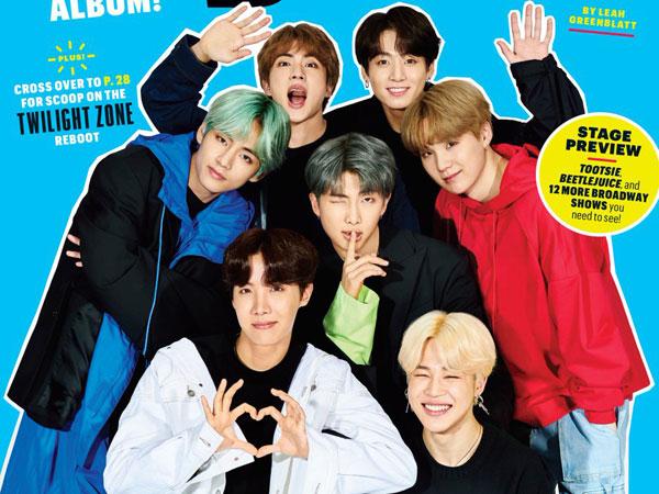 BTS Unjuk Gaya Hip-Hop di Pemotretan Eksklusif Majalah Entertainment Weekly