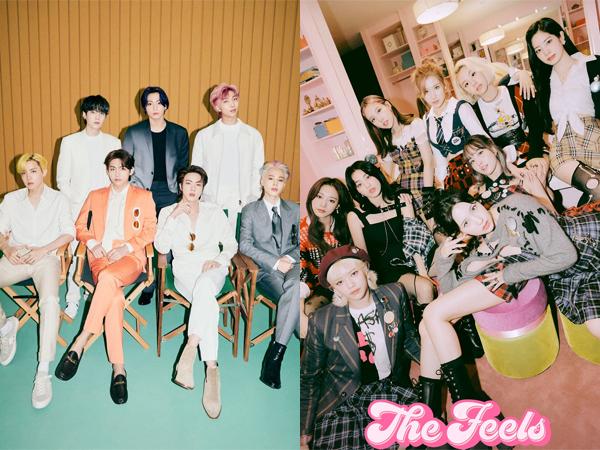 Hanteo Nobatkan BTS dan TWICE Sebagai 'Summer King and Queen'