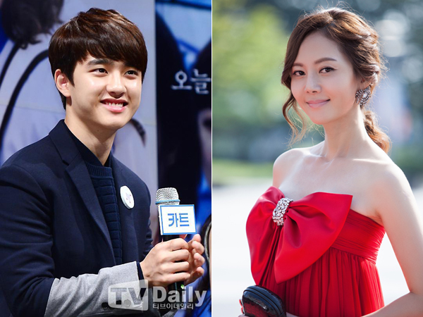 D.O. EXO Anggap Aktris Yum Jung Ah Seperti Ibunya Sendiri Saat Syuting 'Cart'