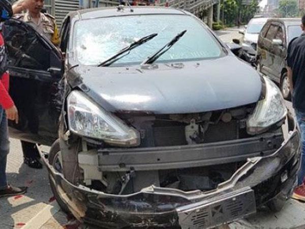 Ternyata Pengemudi Positif Sabu di Jakarta Barat Ini Sempat Tabrak Motor di Tempat Berbeda