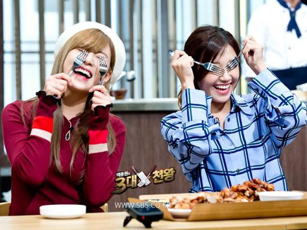 Eunji dan Hayoung A Pink Ternyata Punya Kebiasaan Makan yang Aneh!