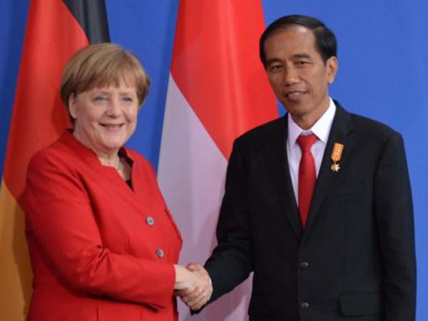 Kunjungan Ke Jerman, Presiden Jokowi Ditanya Kelanjutan Hukuman Mati Narkoba