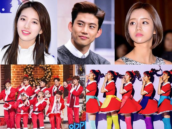 Tak Libur, Ini Daftar Idola K-Pop yang Tetap Bekerja di Hari Natal
