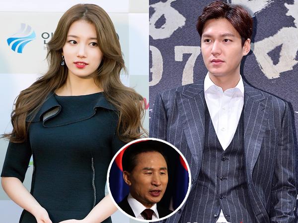 Kabar Pacaran Lee Min Ho dan Suzy Dibuat Untuk Pengalihan Isu Korupsi Mantan Presiden Korsel?