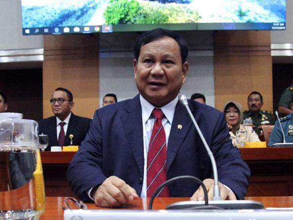 Pemaparan Prabowo di Komisi I DPR RI: Kalo Terpaksa Perang, Kita Perang