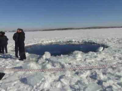 Jenis Meteorit yang Menyerang Rusia Terungkap