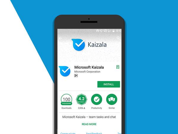 Microsoft Bikin Kaizala, Aplikasi Chatting yang Aman untuk Kerja Pesaing WhatsApp