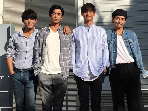 Posting Foto Bareng Pemain Lainnya, Park Seo Joon Berikan Update Soal Drama 'Hwarang'