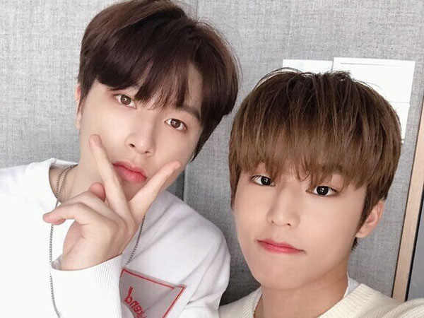 So Junghwan dan Park Jeongwoo TREASURE Negatif COVID-19