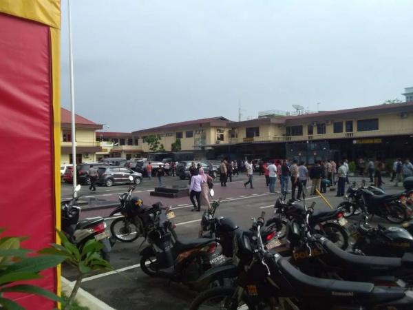 Jangan Sebar Foto Potongan Tubuh Pelaku Bom Bunuh Diri Polrestabes Medan, Bisa Kena Pidana!
