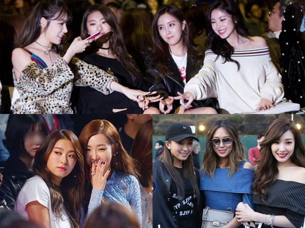 Ini Dia Geng Idola K-Pop Paling Eksis di Seoul Fashion Week F/W 2016!