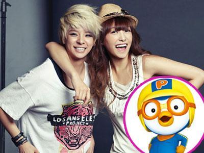 Kartun Pororo Bantu Victoria dan Amber f(x) Belajar Bahasa Korea