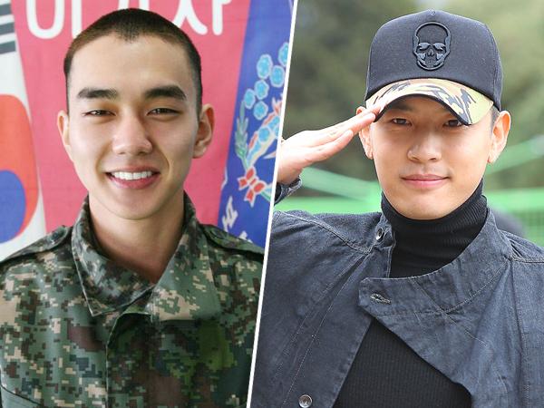 Yoo Seung Ho dan Se7en Umumkan Kepulangan Dari Wajib Militer