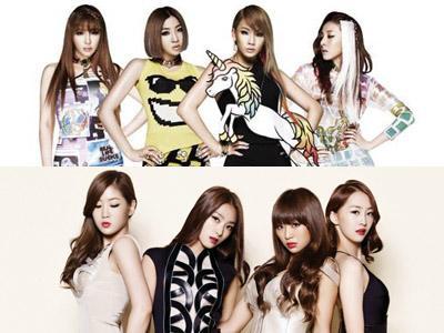2NE1 dan SISTAR Akan Bersaing untuk Comeback Juni Mendatang?