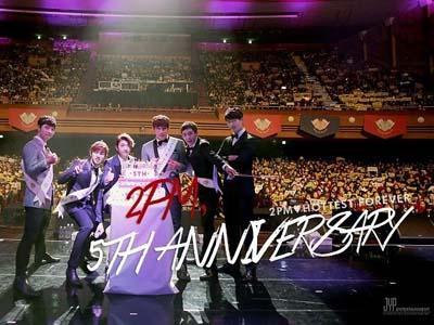 Rayakan 5 Tahun Debut, 2PM Beri Pesan Spesial untuk Hottest
