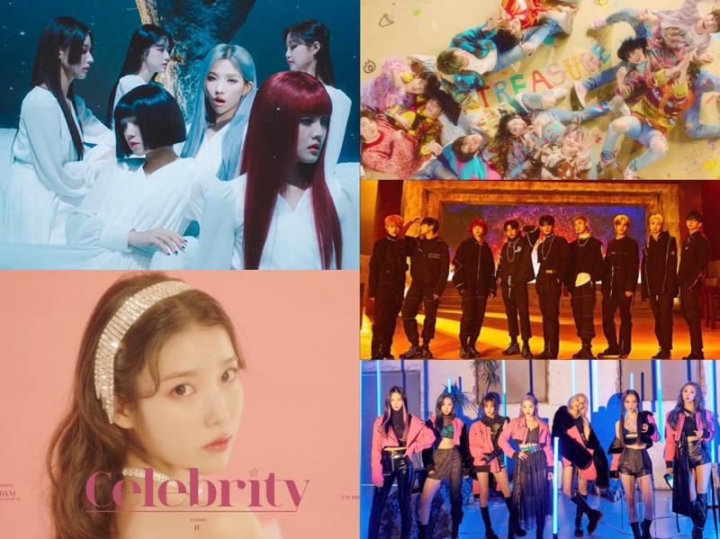Daftar 25 MV K-Pop Paling Banyak Ditonton Pada Januari 2021