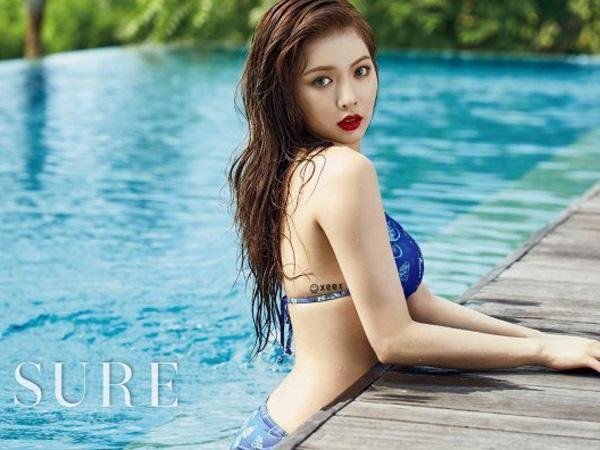 Nikmati Musim Panas di Bali, HyunA 4Minute Berbikini di Pemotretan Majalah