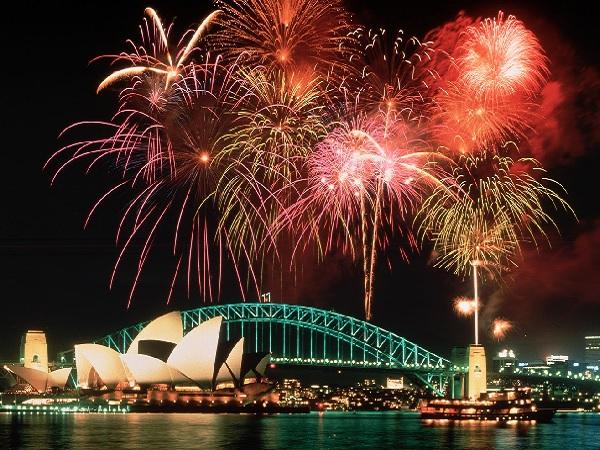 Intip Deretan Negara yang Merayakan Tahun Baru Paling Keren