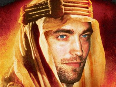 Robert Pattinson Incar Perankan  Lawrence of Arabia
