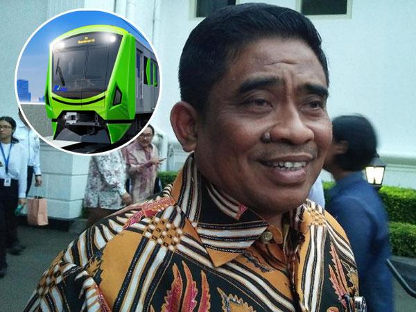 Mirip 'Jangkrik', Plt Gubernur DKI Sumarsono Minta Desain Ulang Bentuk Kepala Kereta MRT