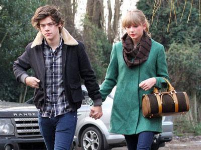 Taylor Swift Girang Dapat Hadiah Tahun Baru Dari Harry Styles